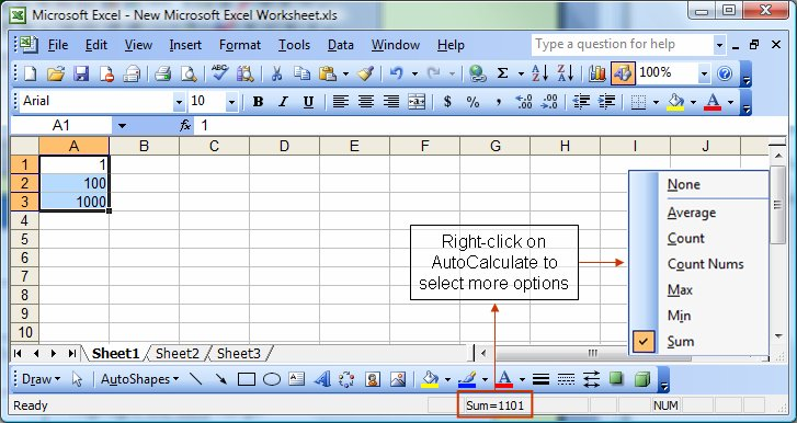 How to stop auto calculation in excel 2010 10